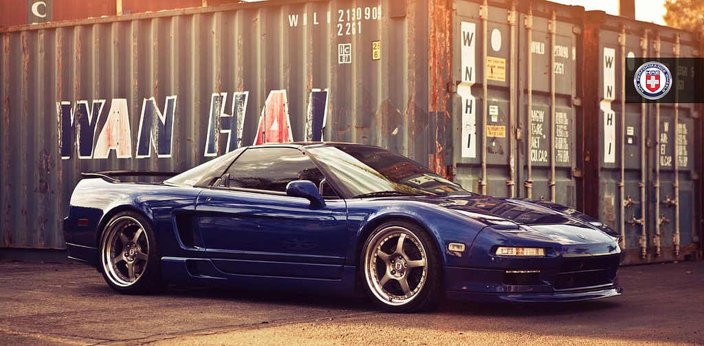 Acura Nsx Rides On Hre Wheels Autoevolution