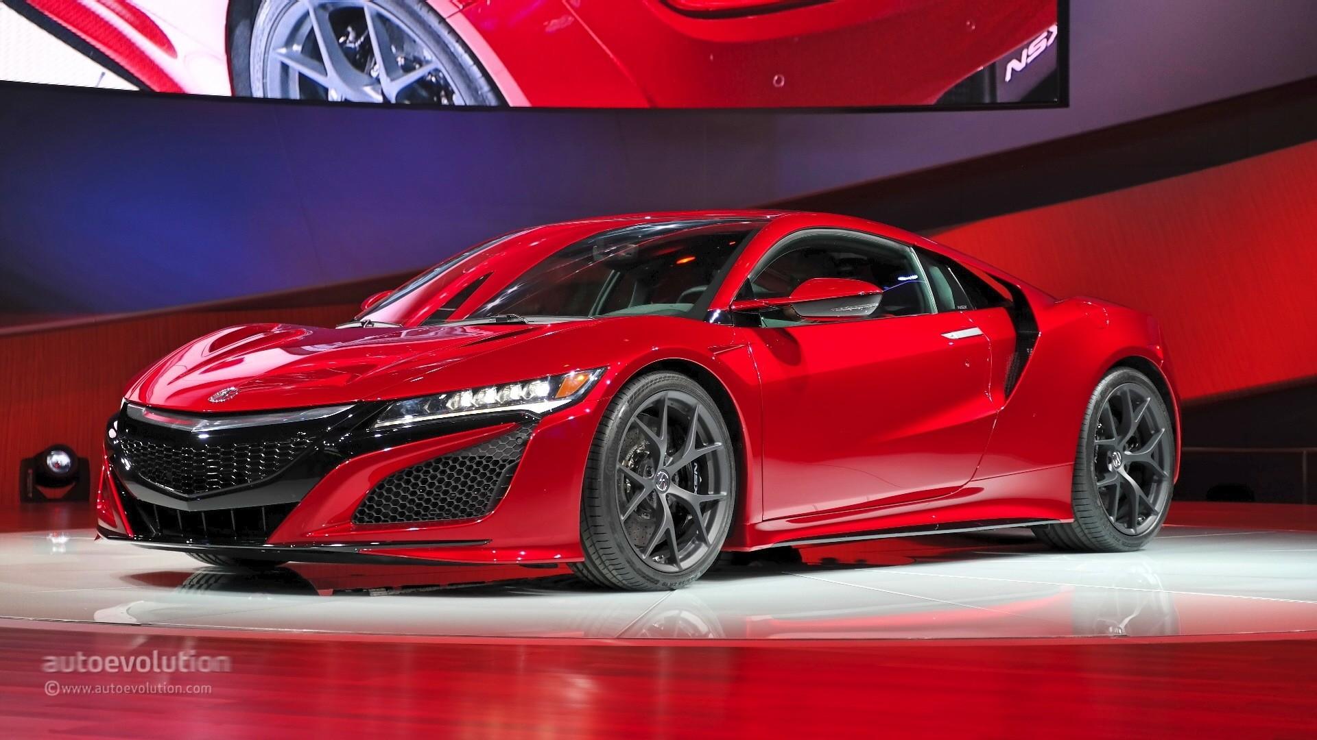 Acura Nsx 2017 Detroit Auto Show