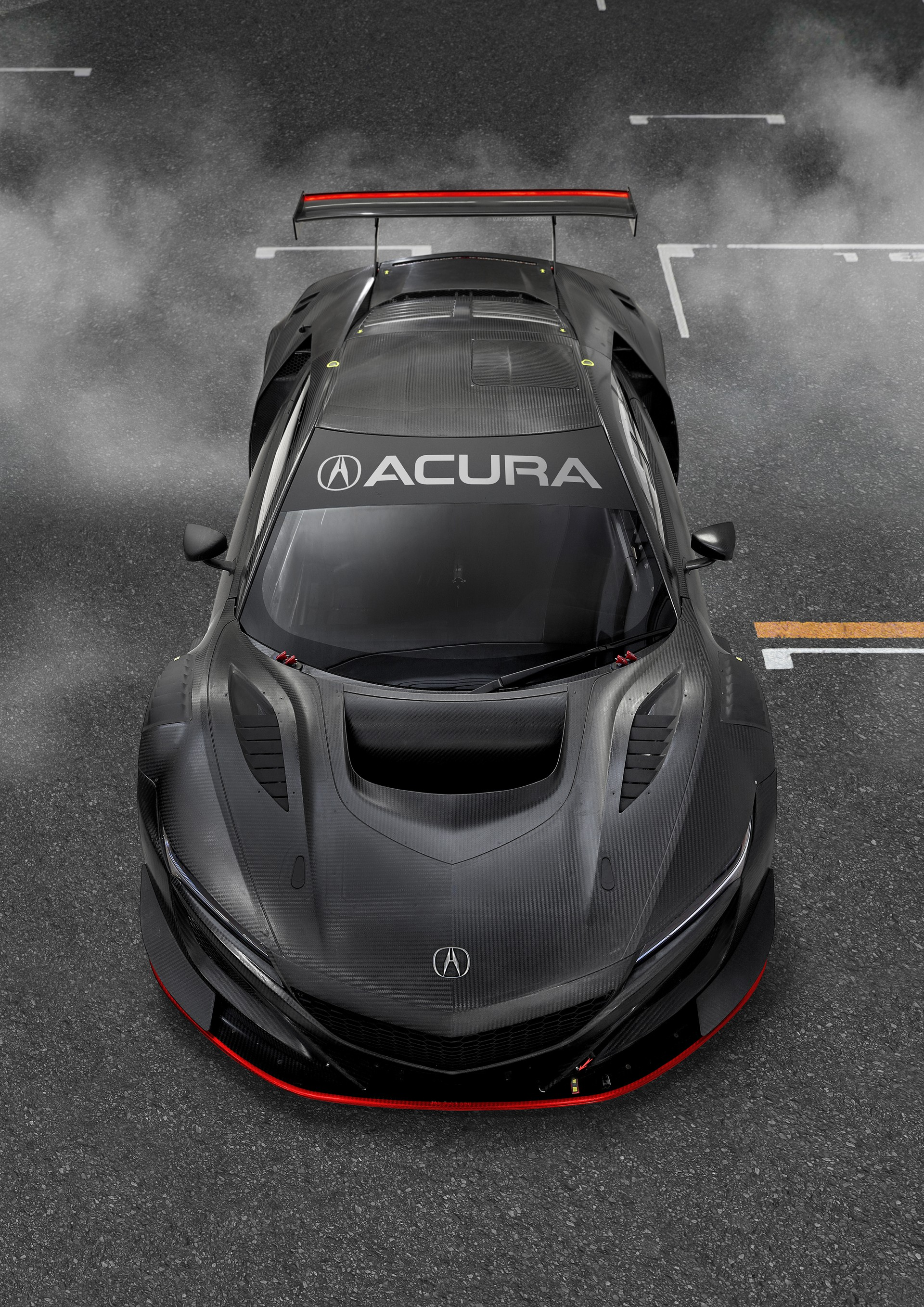 acura nsx type r to debut with about 650 hp at the end of