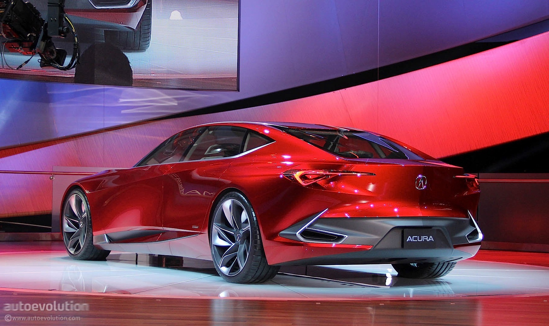 Acura Precision Concept Spices Up The 2016 Detroit Auto Show Autoevolution