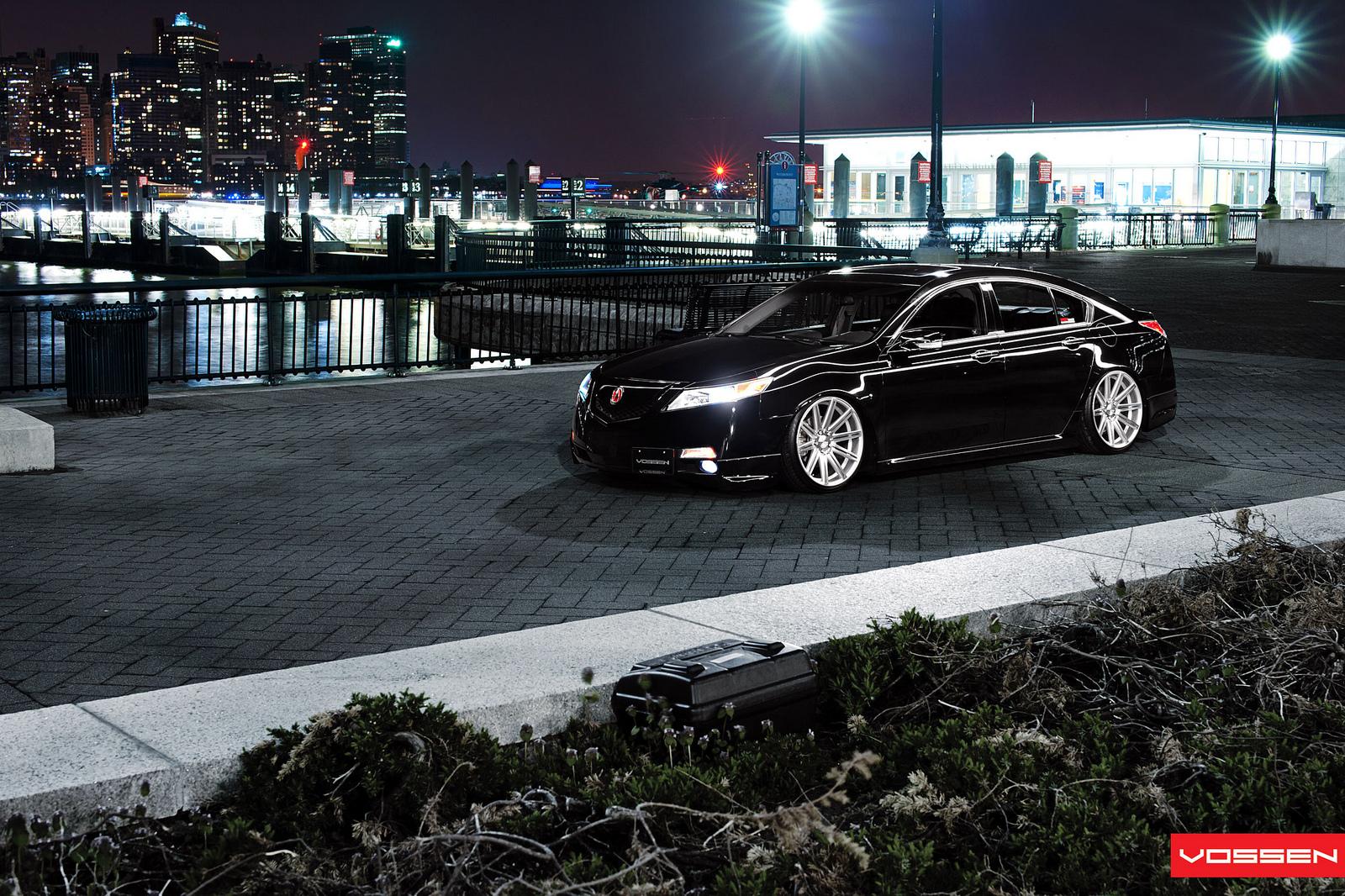 Acura Tl Lowrider On Vossen Wheels Photo Gallery