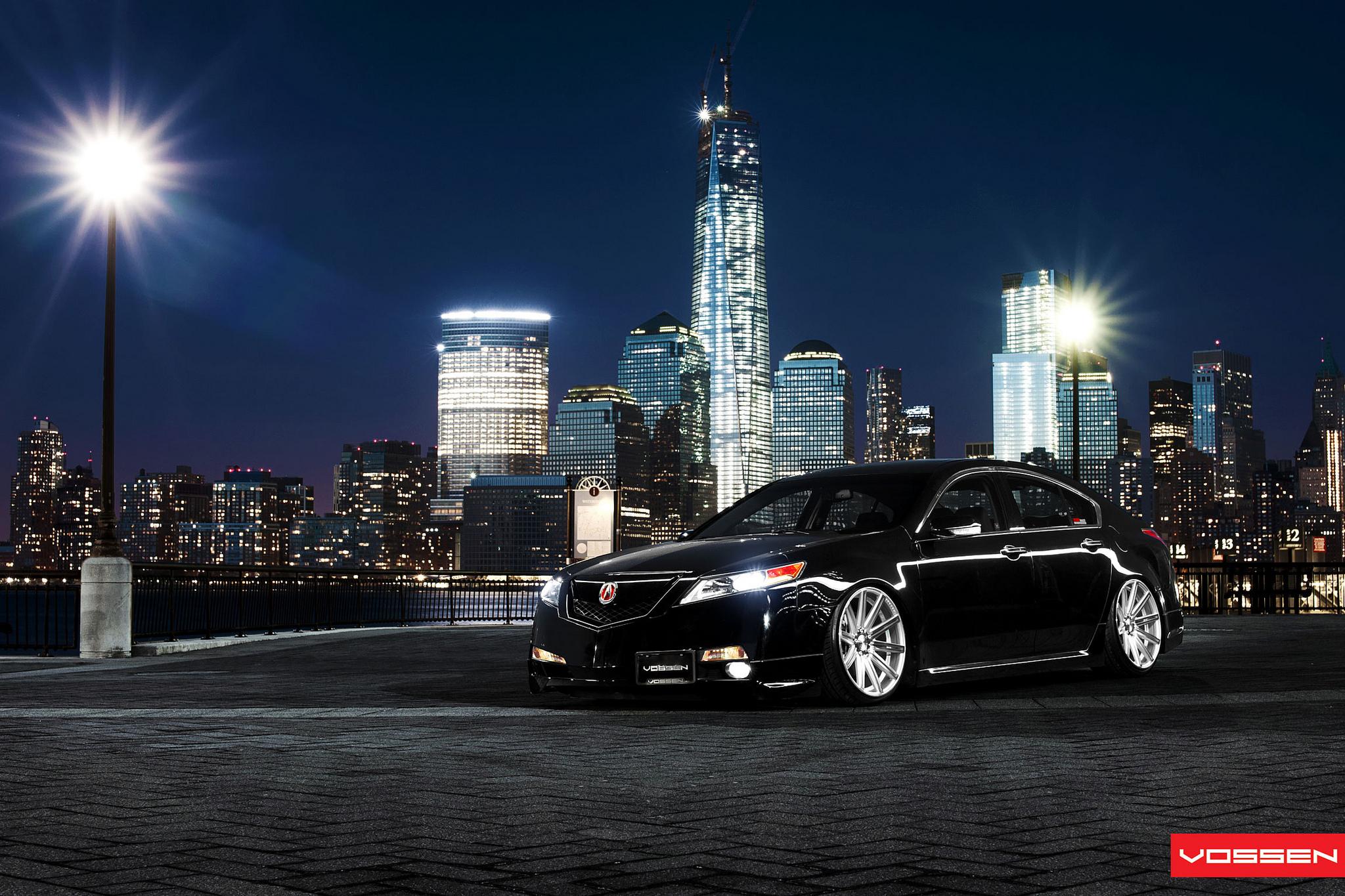 Acura Tl Lowrider On Vossen Wheels Autoevolution