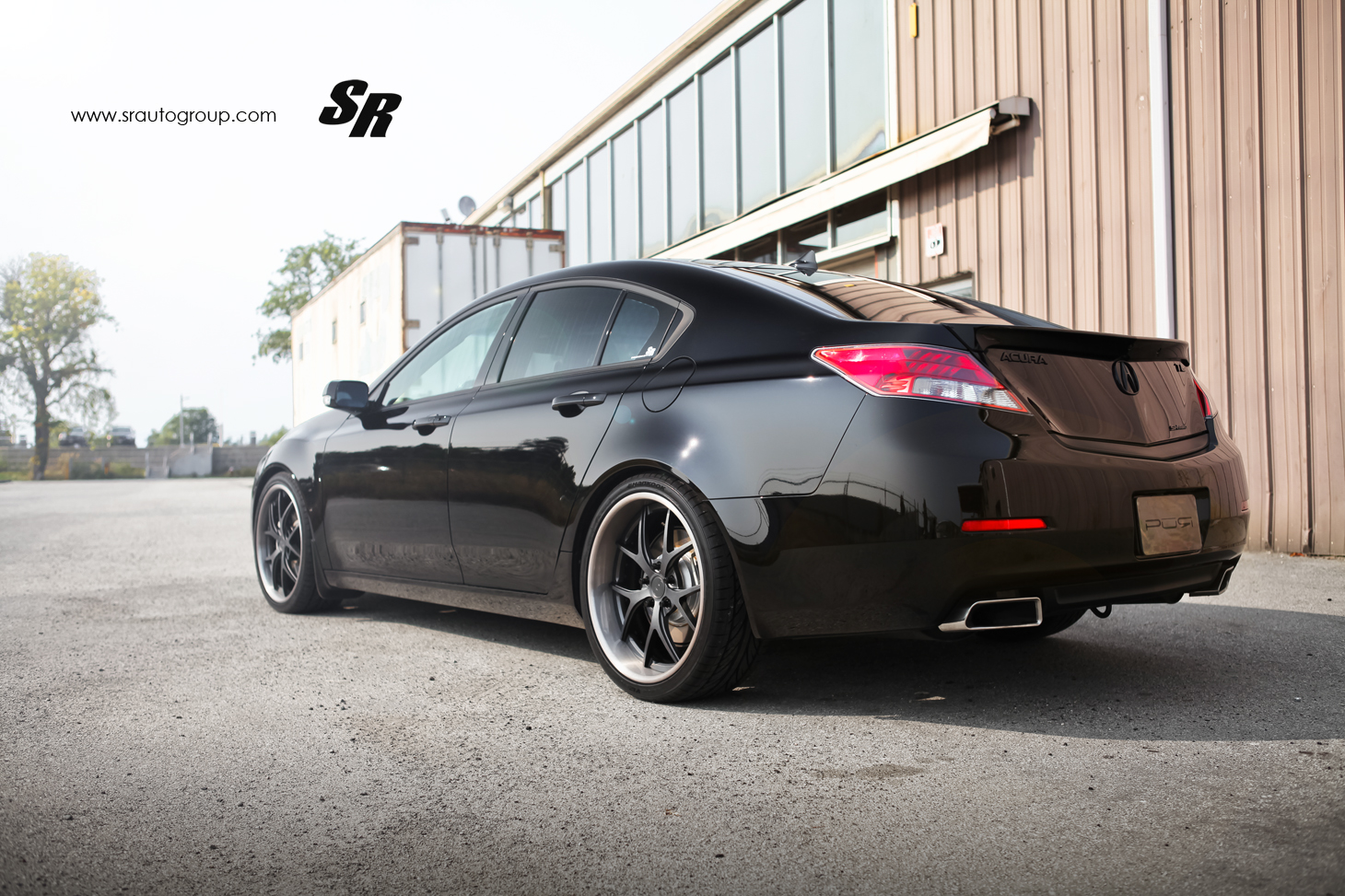 Acura TL on PUR Wheels - autoevolution