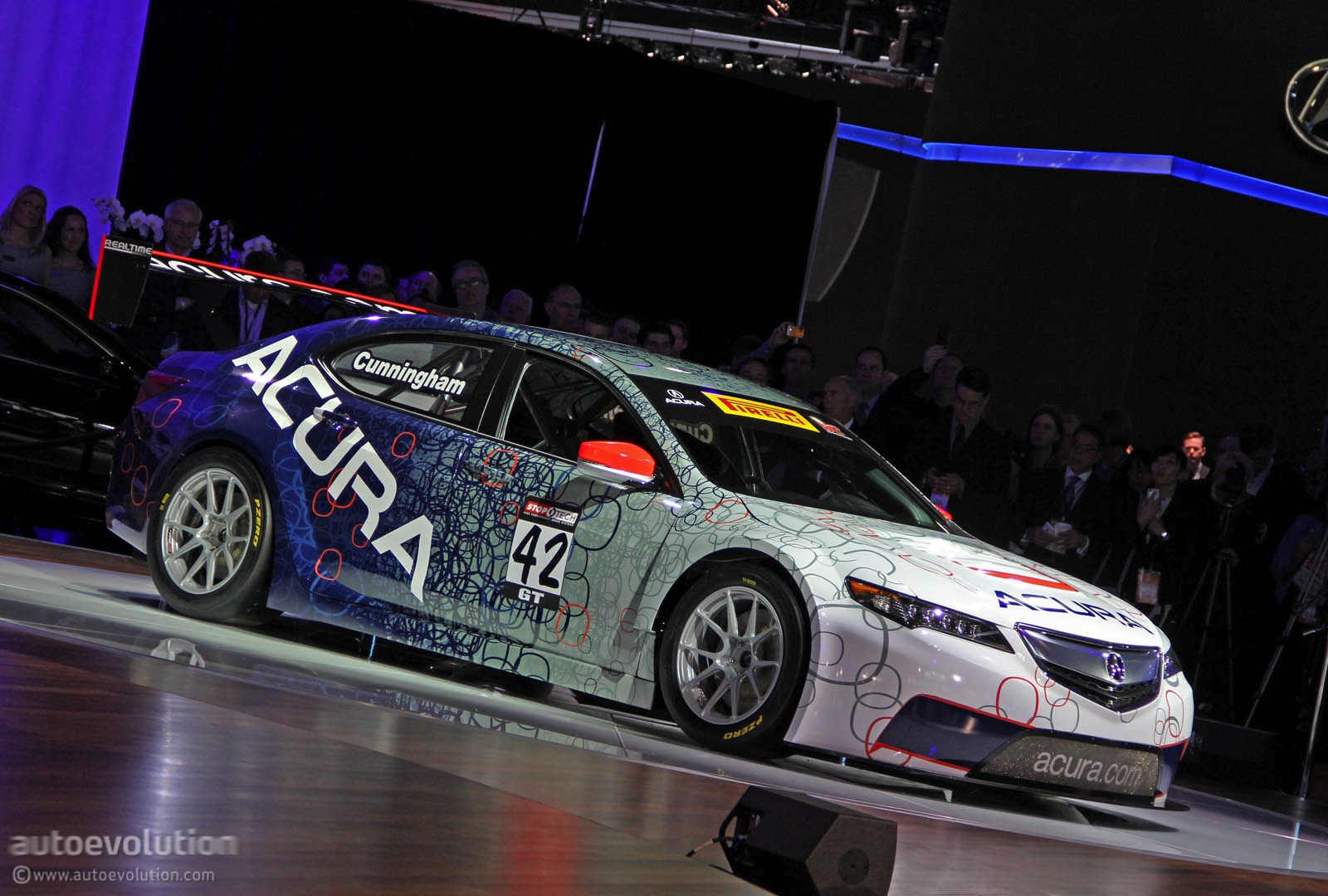 Acura TLX GT Race Car for Pirelli World Challenge Revealed [Live Photos] - autoevolution