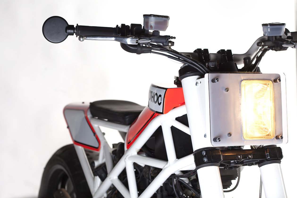 Ad Hoc Haptica, Ducati Multistrada 1000 DS to the Extreme