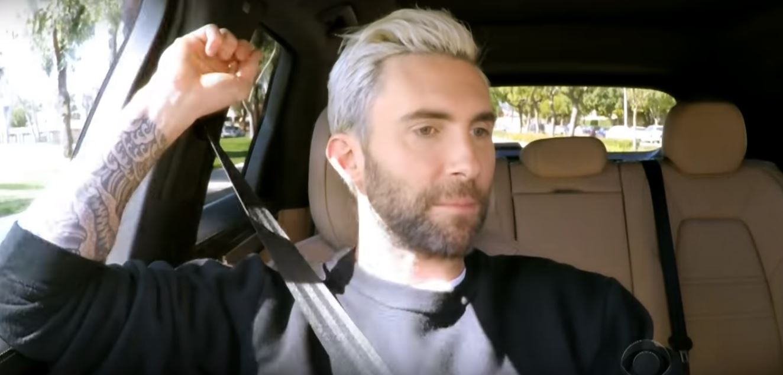 Adam Levine James Corden Pulled Over By Cops During Carpool Karaoke