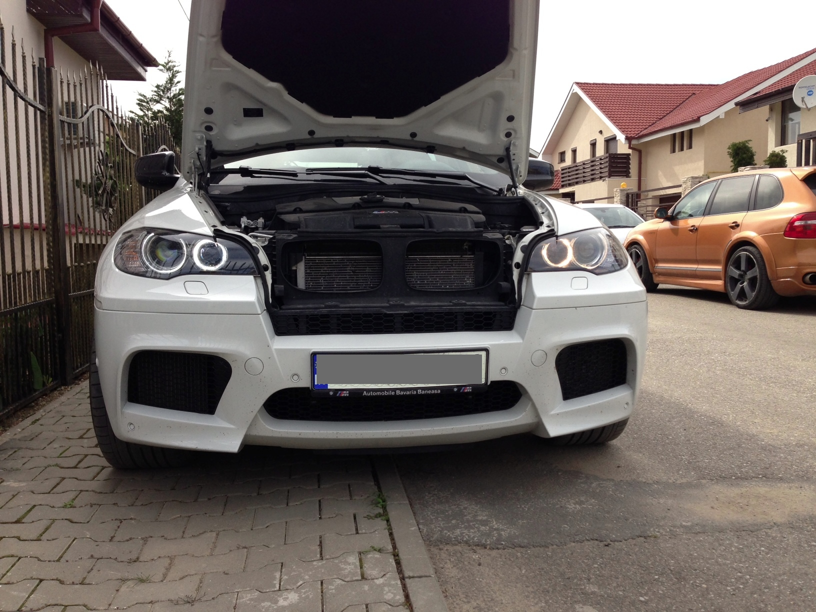 Adjustable Angel Eyes Kit Install Diy For Bmw X6 M