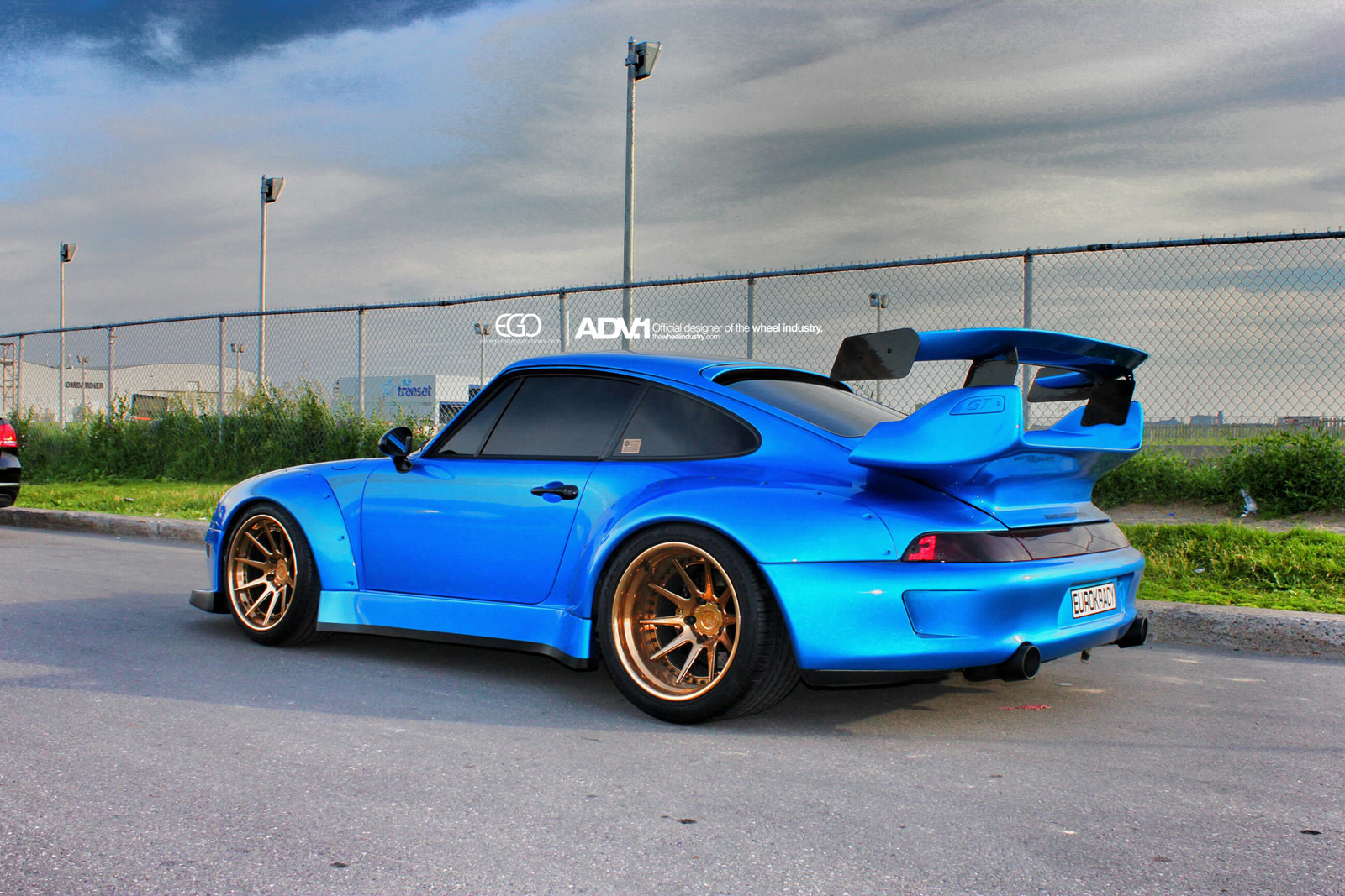 ADV1 Wheels Add Class to RWB Widebody Porsche 993 Turbo ...