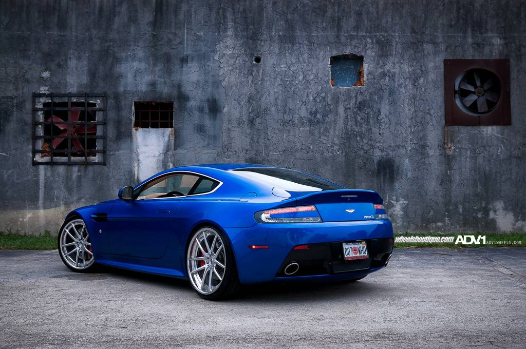 Adv 1 Wheels For Aston Martin V8 Vantage Autoevolution