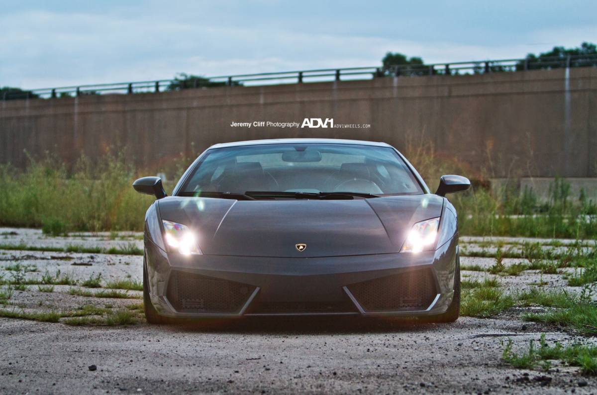 ... ADV.1 Wheels On Lamborghini Gallardo LP560 4 ...