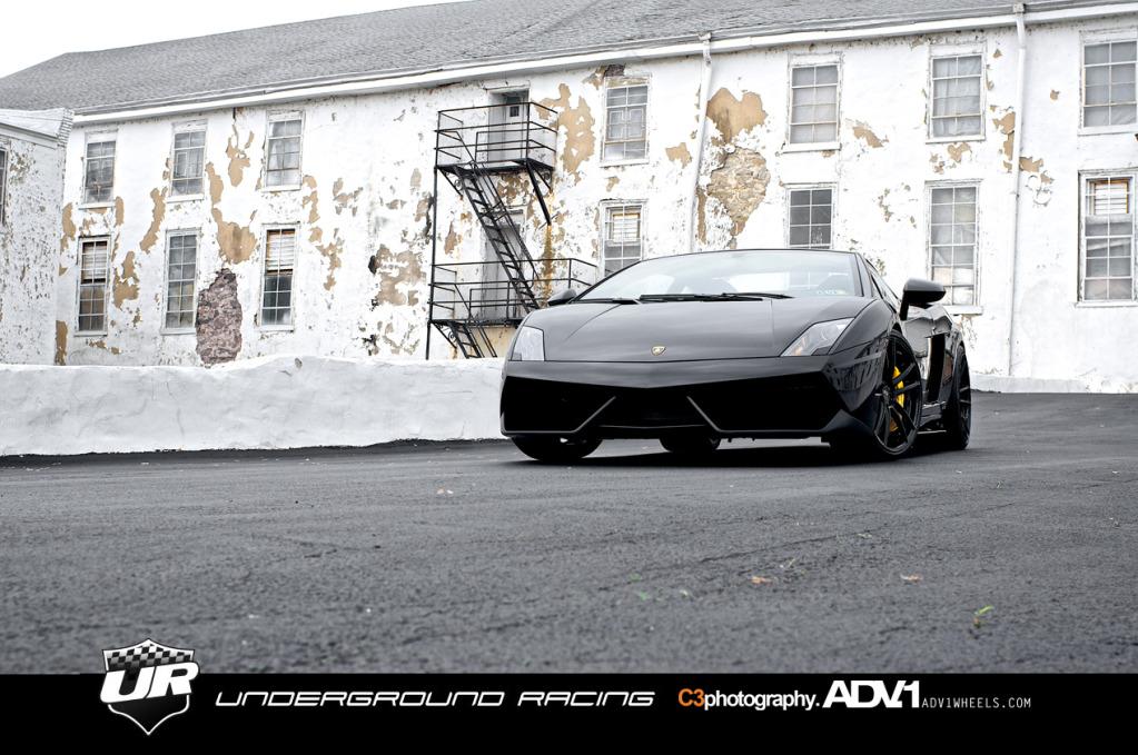 adv 1 wheels twin turbo lamborghini gallardo shoot autoevolution. Black Bedroom Furniture Sets. Home Design Ideas