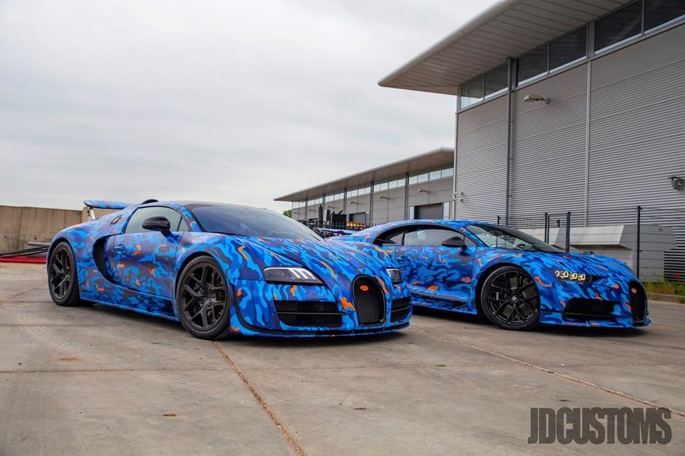 Afrojack S Bugatti Chiron And Veyron Get Matching Blue