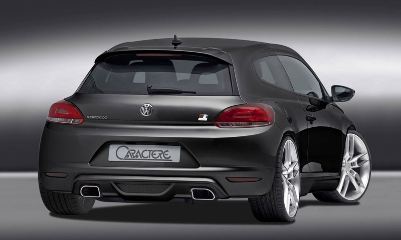 aftermarket 2009 vw scirocco by caractere autoevolution. Black Bedroom Furniture Sets. Home Design Ideas