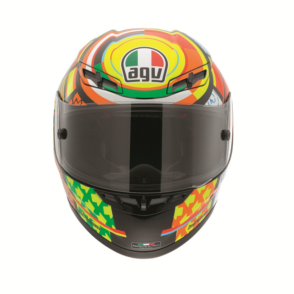 Agv Launches The Rossi Elements Edition Helmet Autoevolution