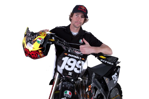 agv presents the travis pastrana ax8 tp199 helmet