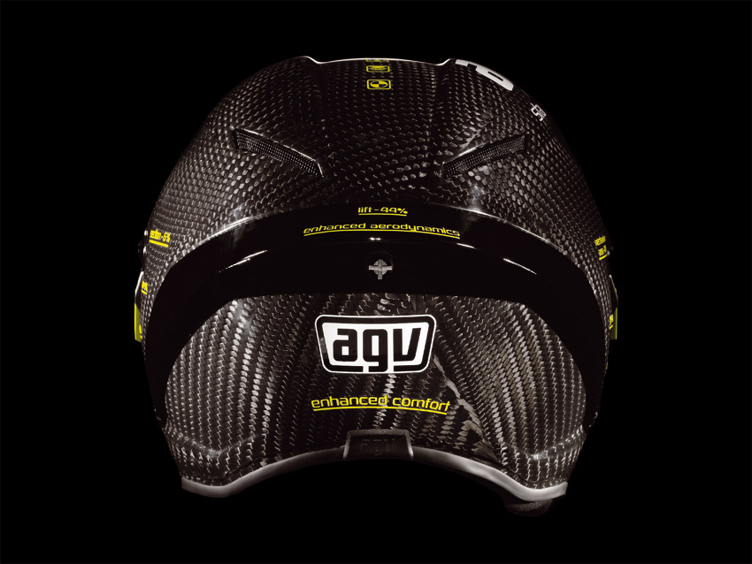 agv surfaces the pista gp rossi replica helmet autoevolution. Black Bedroom Furniture Sets. Home Design Ideas