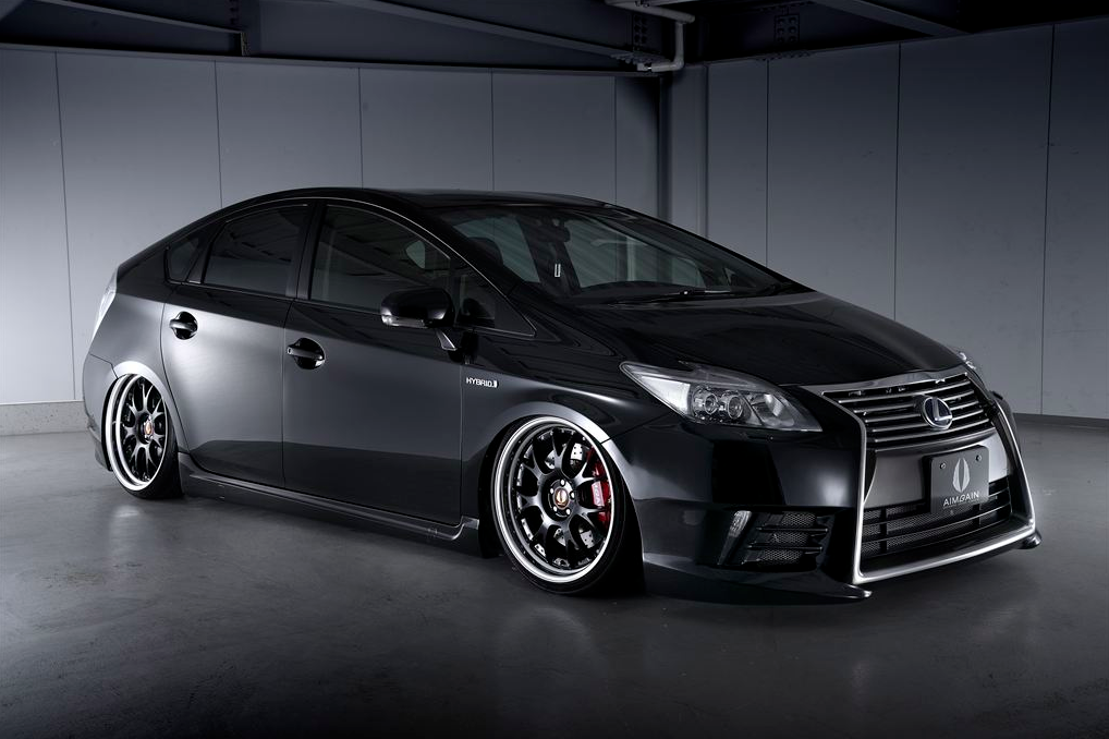 Aimgain Kit Transforms Toyota Prius Into Lexus Autoevolution