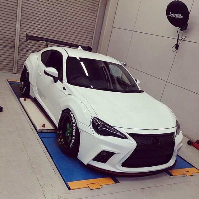 Aimgain Toyota GT 86 Preparing For Tokyo Auto Salon