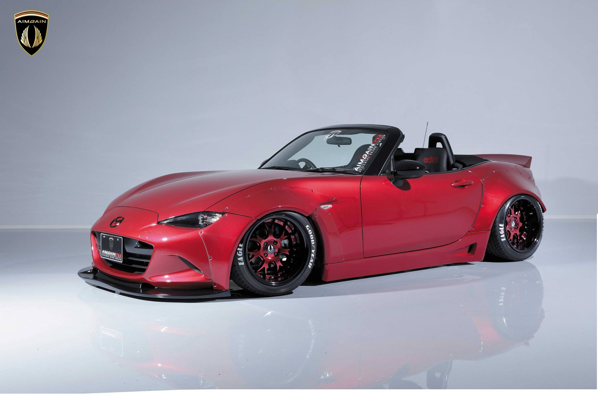 aimgain widebody kit ruins the new mazda mx 5 in a good. Black Bedroom Furniture Sets. Home Design Ideas