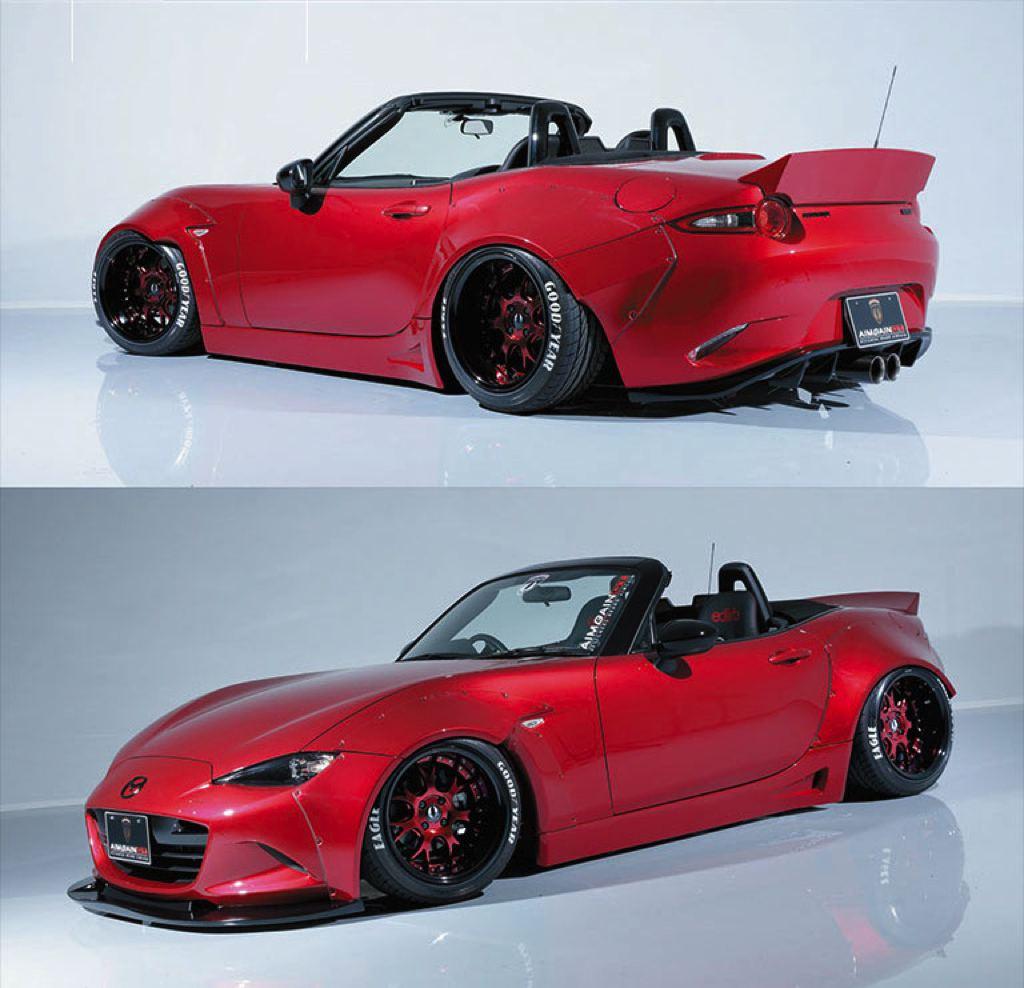Aimgain Widebody Kit Ruins The New Mazda MX-5 In A Good