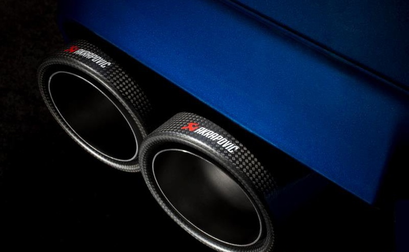 Akrapovic BMW M5 F10 Exhaust System - autoevolution