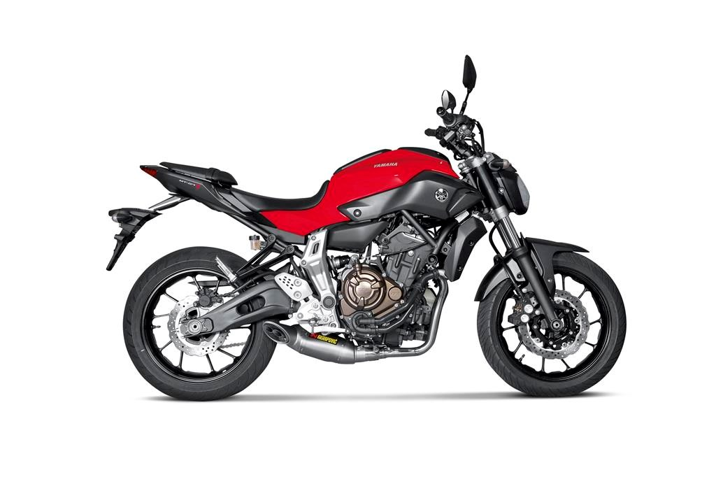Akrapovic Goes To The Dark Side With New Yamaha Mt 07