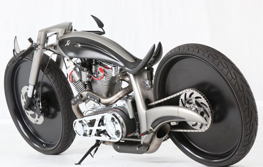 Akrapovic Morsus Custom Motorcycle Updated Autoevolution