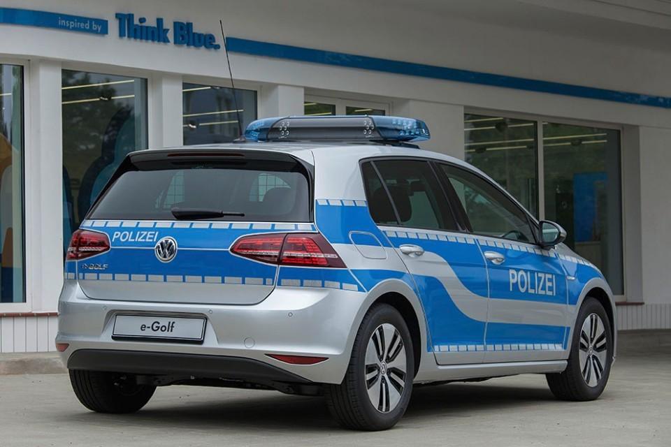 Volkswagen E Golf In Police Trim For Germany S
