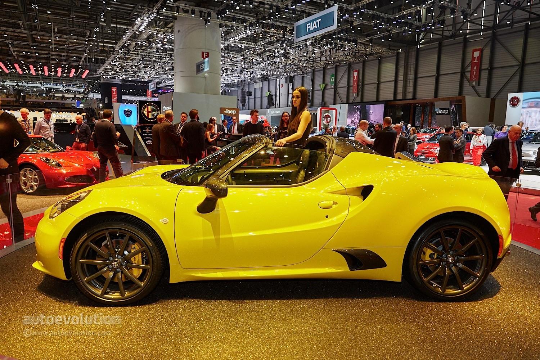 Alfa Romeo C Could Quadrifoglio Version on Alfa Romeo Spider Battery