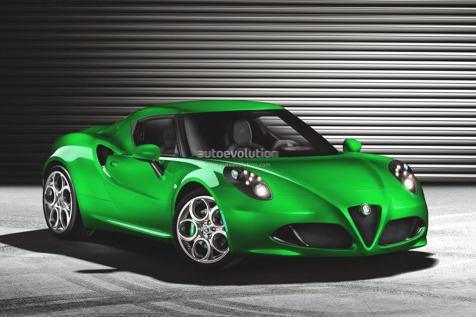 Alfa Romeo 4c >> Alfa Romeo 4C Looks Good in Blue - autoevolution