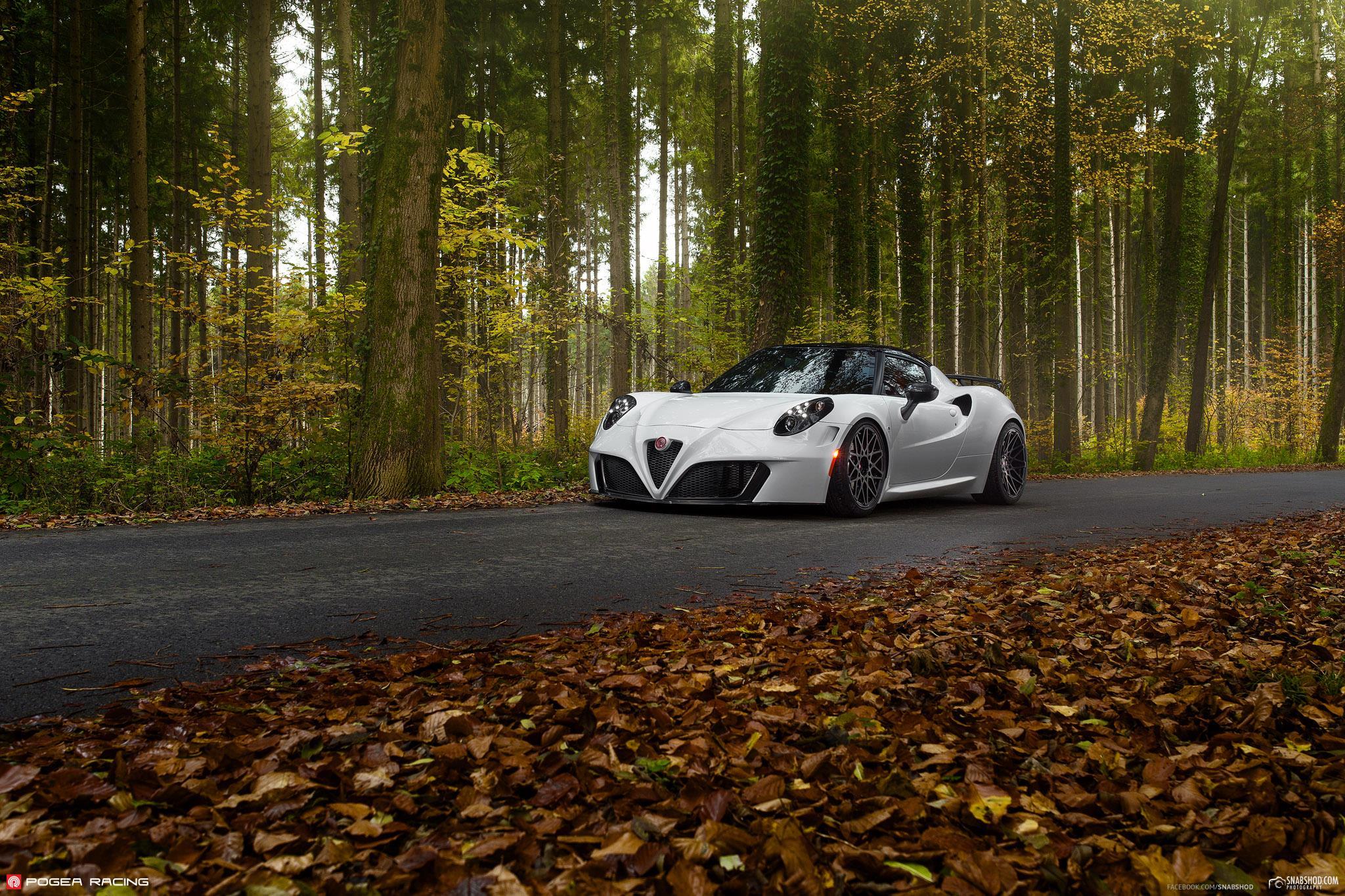 New Alfa Romeo Giulia >> Alfa Romeo 4C Tuned by Pogea Racing: Italian Beauty Meets ...