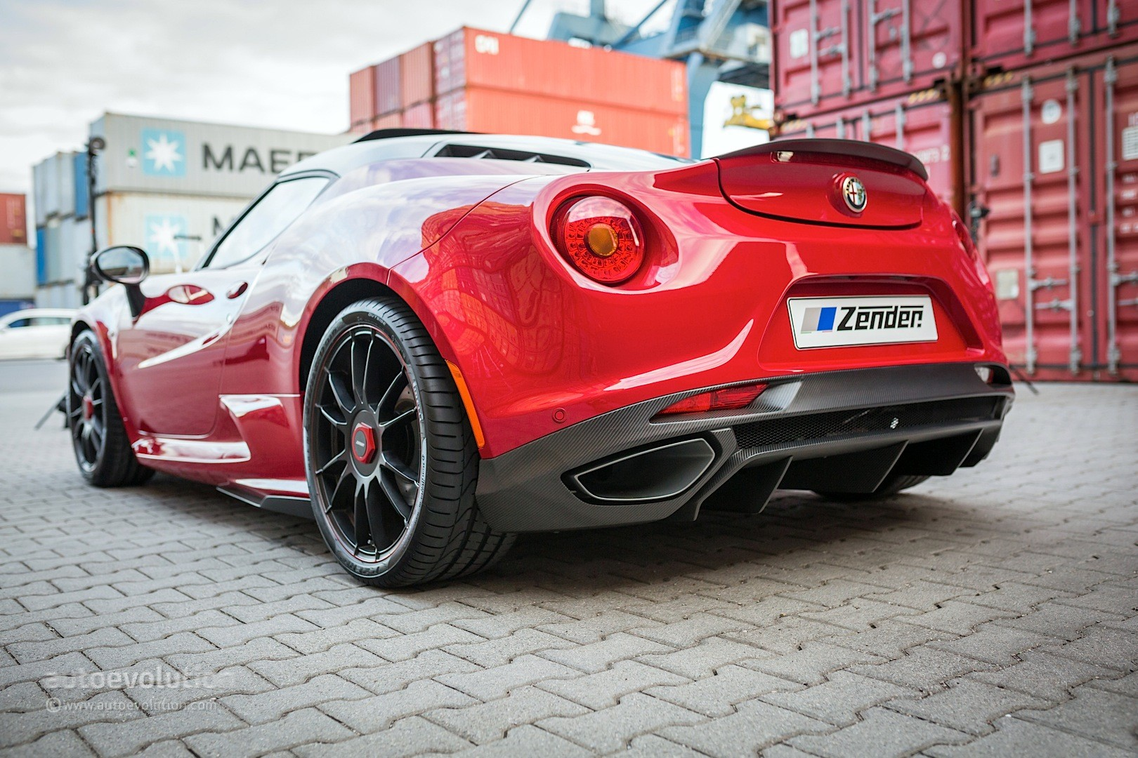 Alfa romeo 4c tuned by zender italia is stunning autoevolution