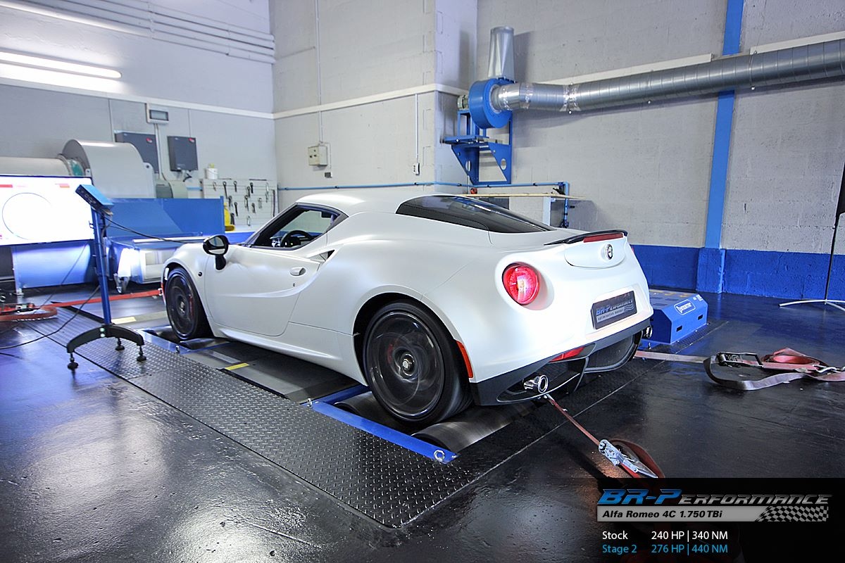 Alfa Romeo 4c Tuned To 276 Hp Using Capristo Exhaust