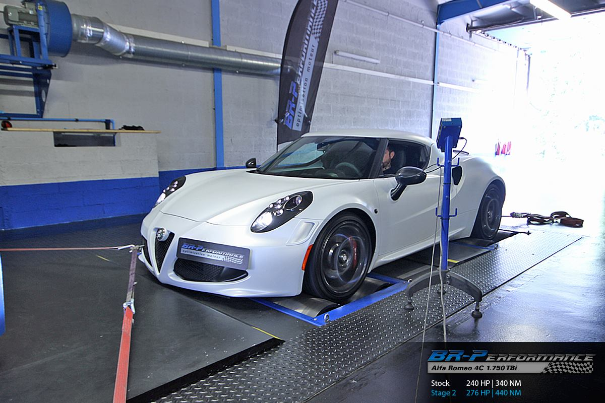 alfa romeo 4c tuned to 276 hp using capristo exhaust. Black Bedroom Furniture Sets. Home Design Ideas