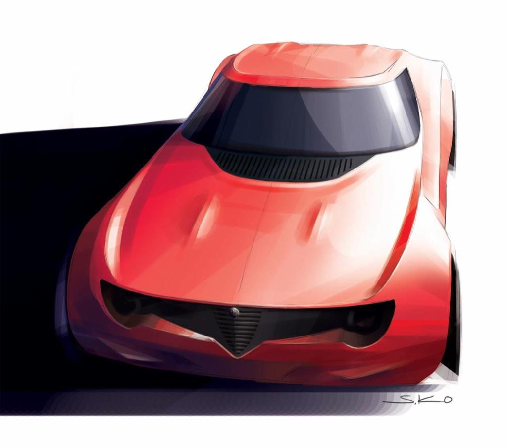 Alfa Romeo Berlina Da Corsa Design Concept