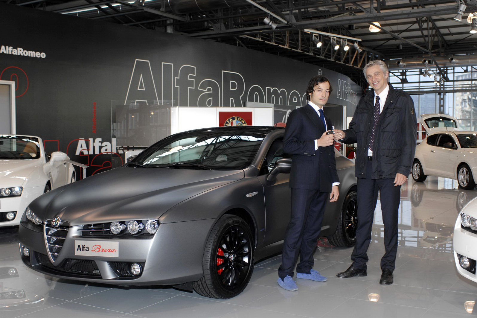 "garage sale tag ideas - Alfa Romeo Brera ""Italia Independent"" on Sale in Germany"