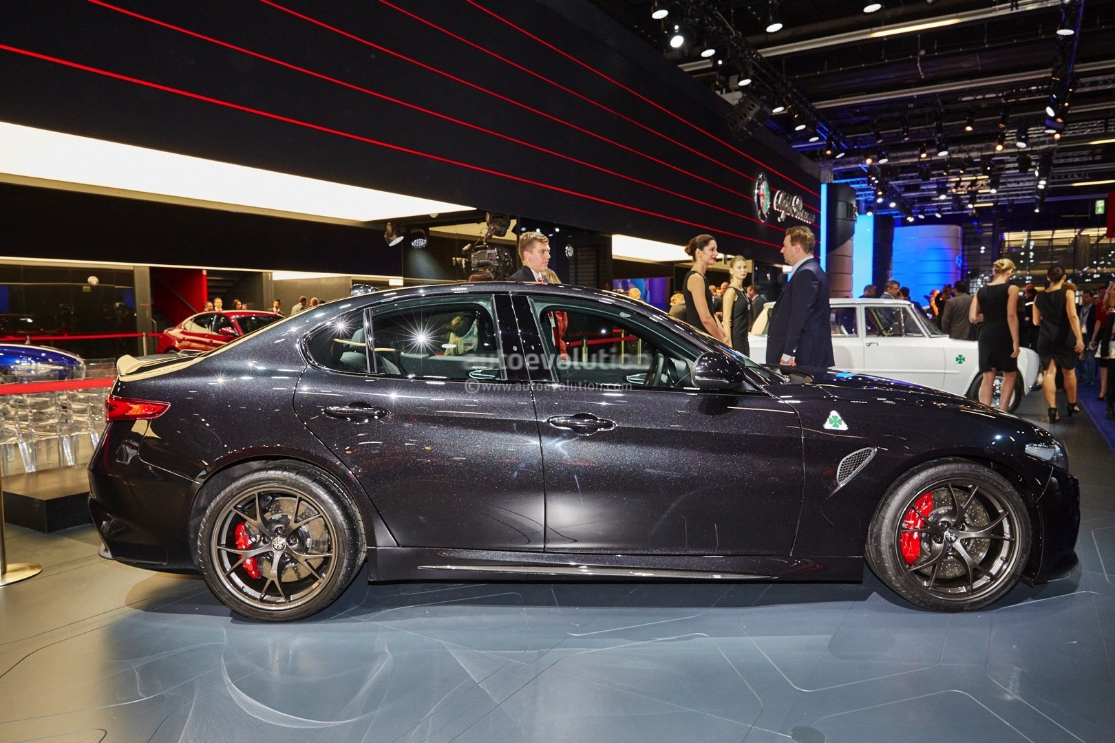 Alfa Romeo Giulia Qv Now Fastest Sedan On Ring Lands In Frankfurt For Eur Live Photos