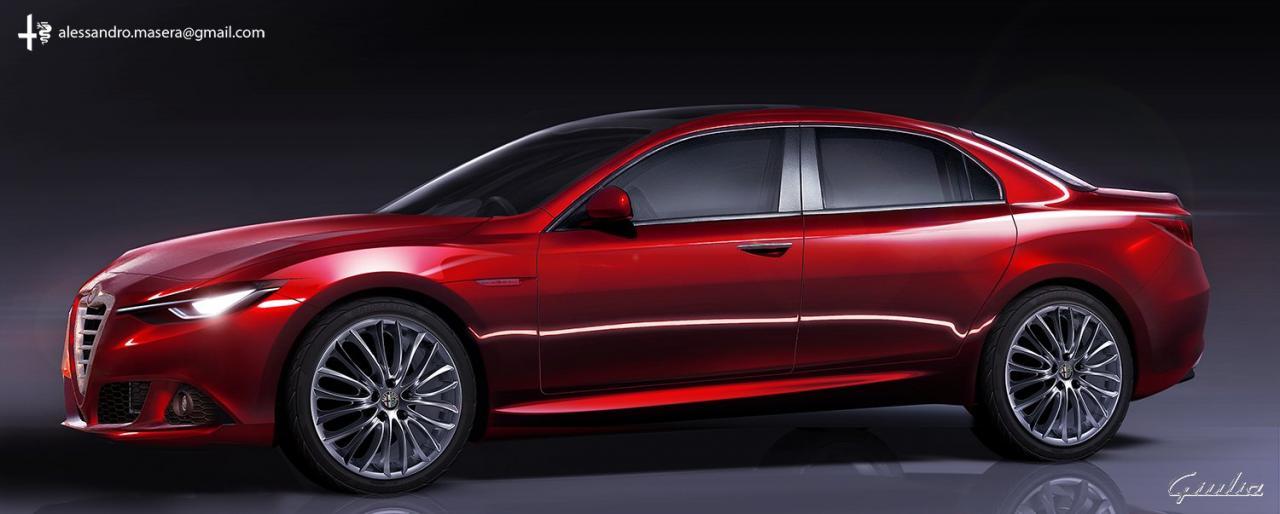 Alfa Romeo Giulia To Be Fwd After All Autoevolution