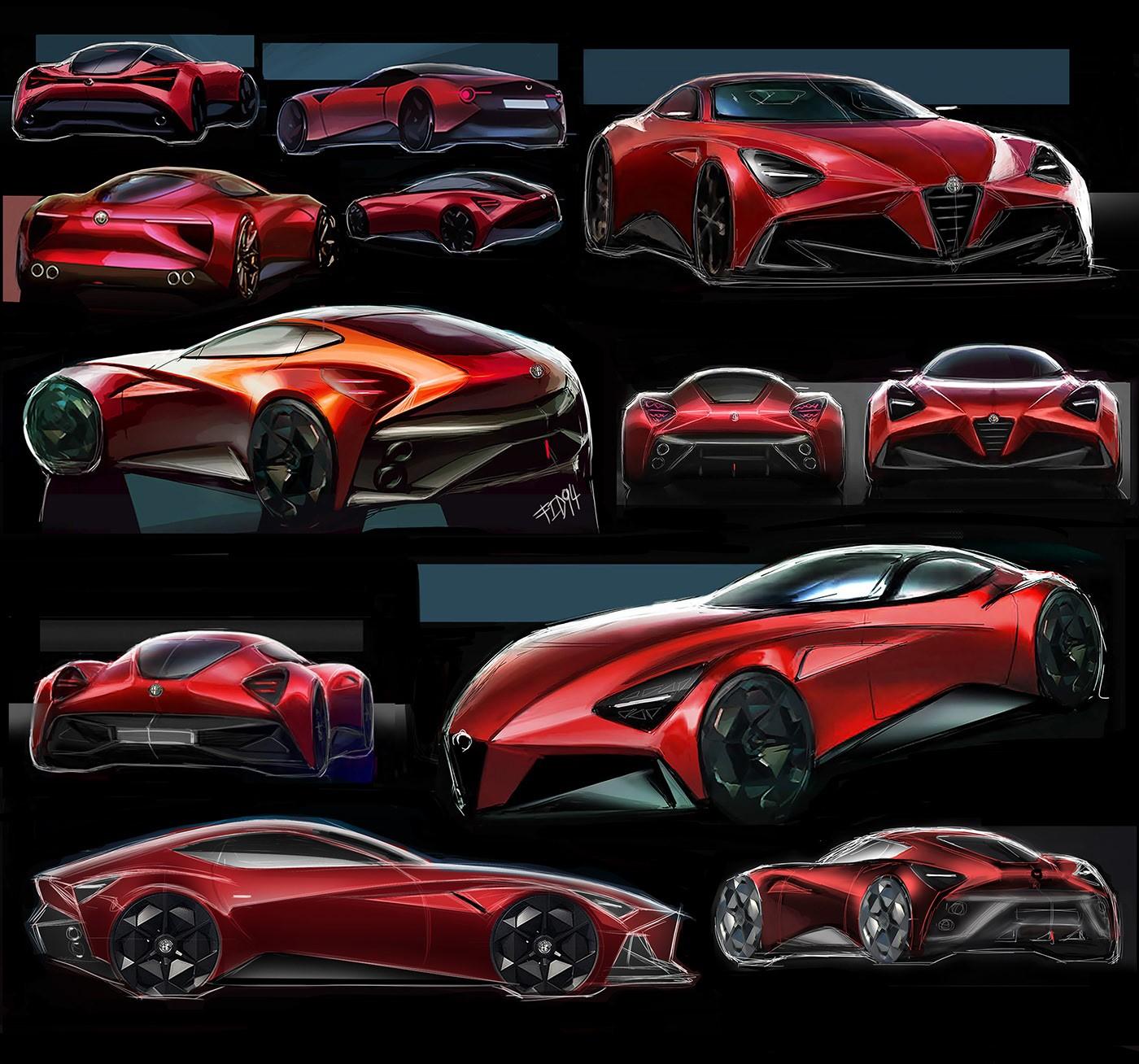 "Alfa Romeo ""Giulia TZ4"" Digitally Imagined With Striking"