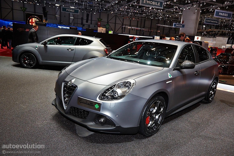 Alfa Romeo Giulietta Quadrifoglio Verde Debuts at Geneva 2014