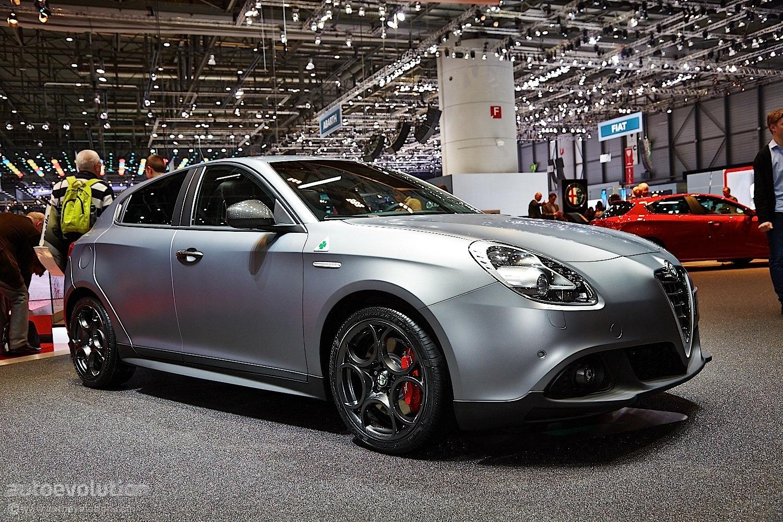 Alfa Romeo Giulietta Quadrifoglio Verde Debuts At Geneva