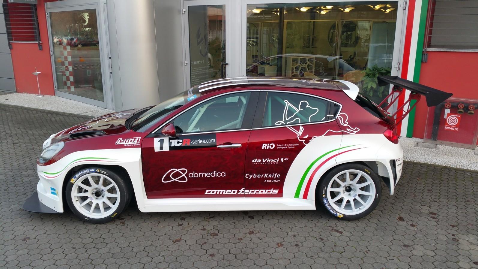 Alfa Romeo Giulietta TCR By Romeo Ferraris Will Race In