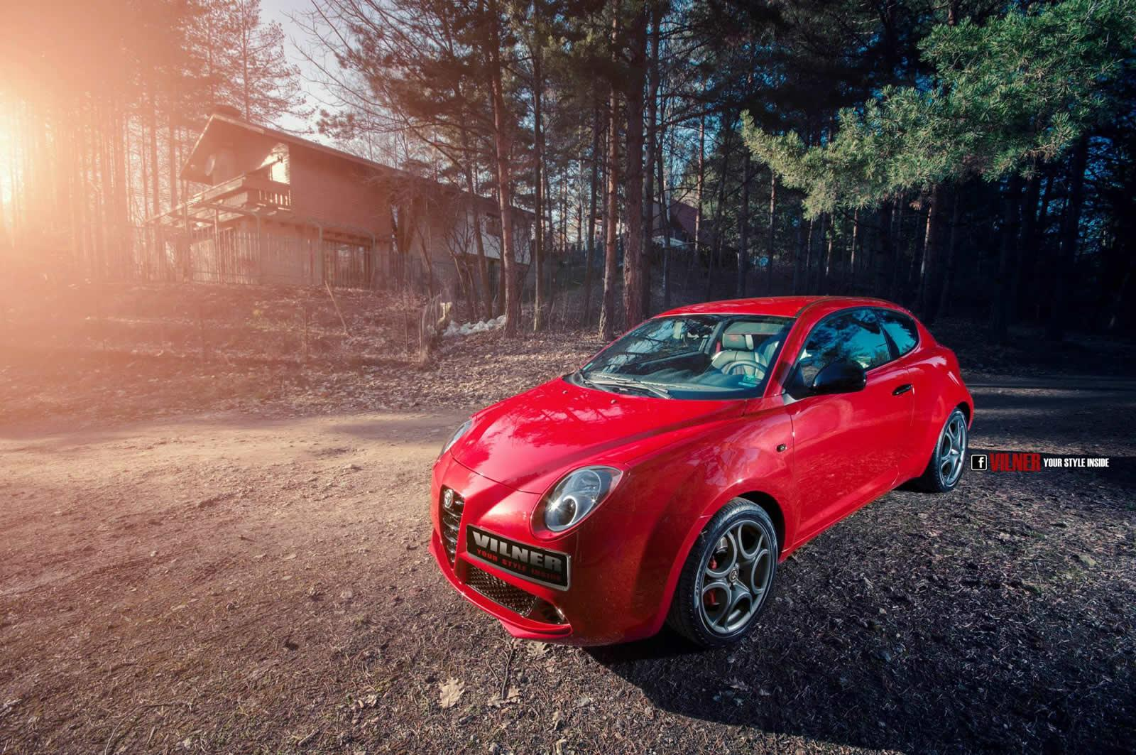 Alfa Romeo Mito Gets Feisty Upgrades From Vilner Autoevolution