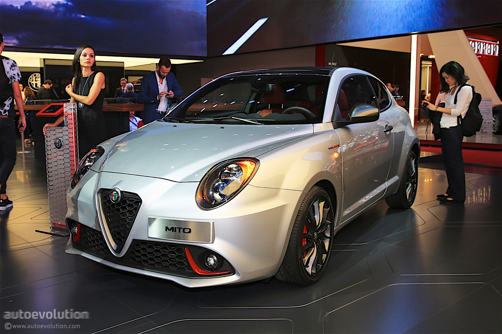 alfa romeo mito veloce shows up in paris it has a. Black Bedroom Furniture Sets. Home Design Ideas