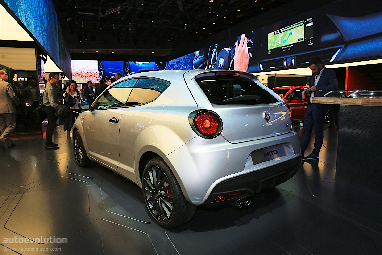Alfa Romeo Mito Veloce Shows Up In Paris It Has A