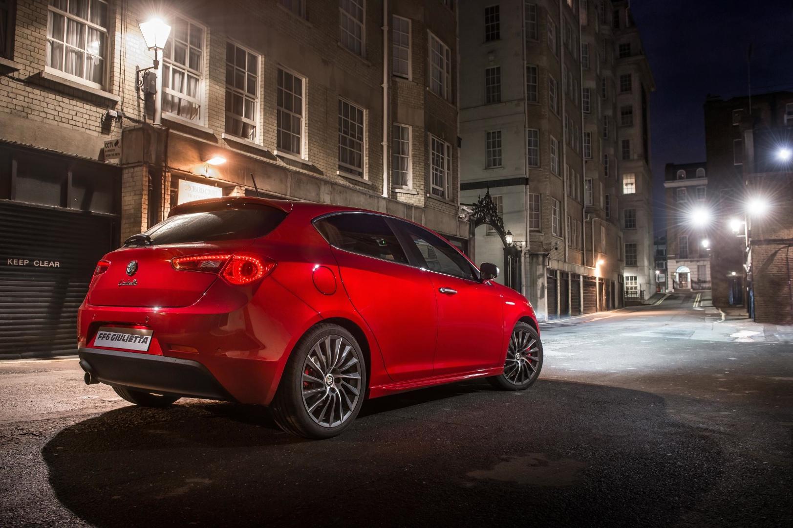 Alfa Romeo Giulietta Fast Amp Furious 6 Limited Edition