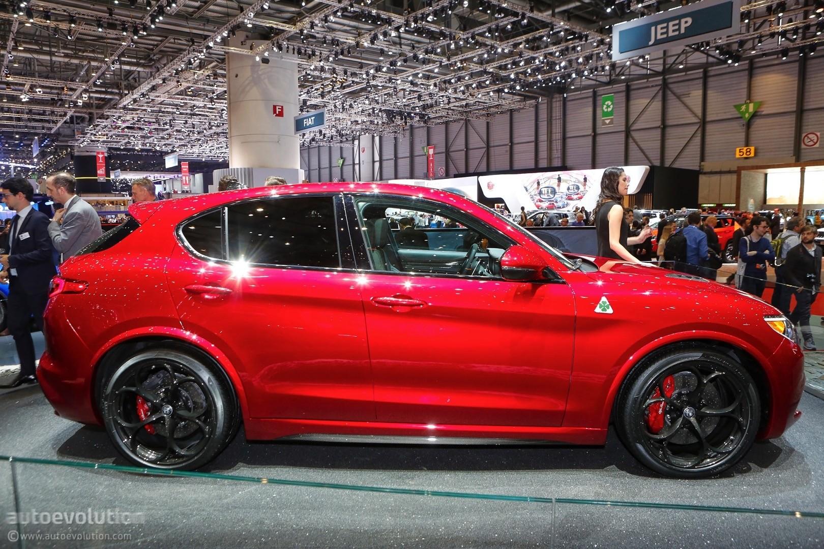 Alfa Romeo Stelvio Arrives In Geneva In Regular And Quadrifoglio