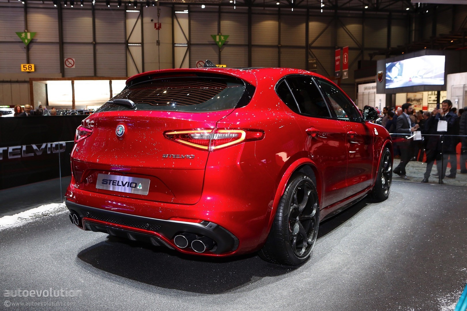 alfa romeo stelvio arrives in geneva in regular and quadrifoglio forms autoevolution. Black Bedroom Furniture Sets. Home Design Ideas