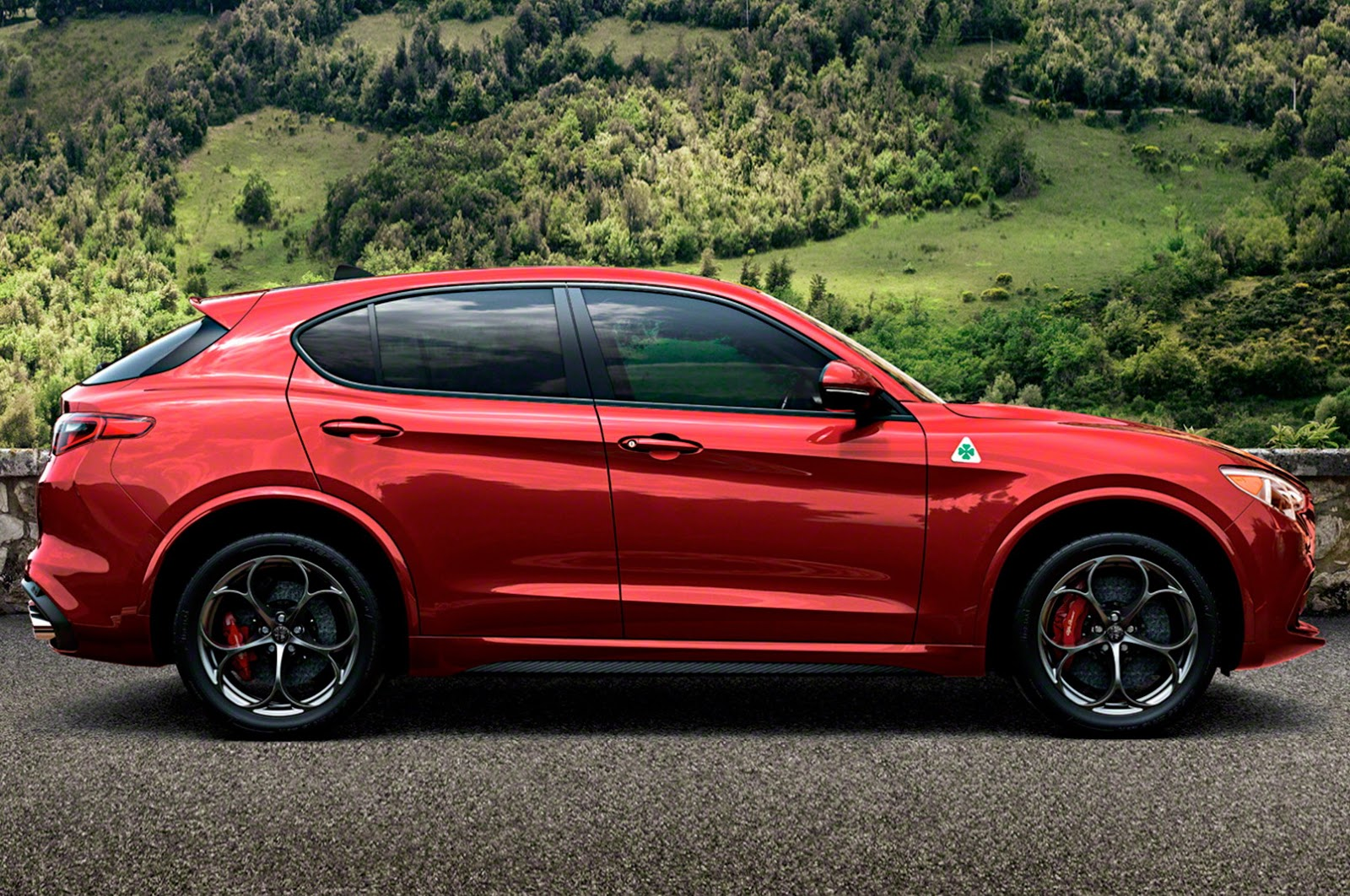 alfa romeo stelvio suv finally revealed in sexy quadrifoglio form autoevolution. Black Bedroom Furniture Sets. Home Design Ideas