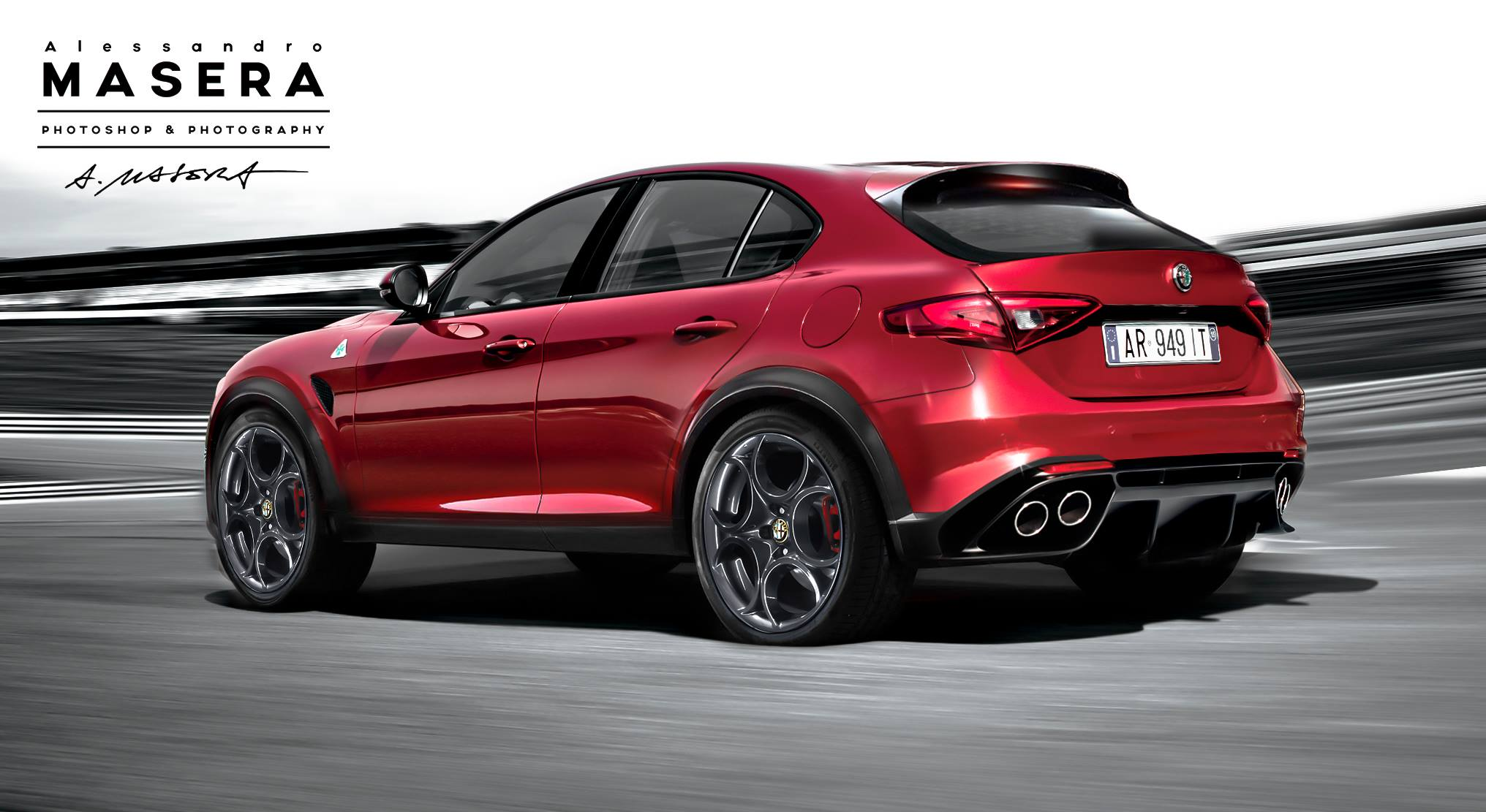 Alfa Romeo Stelvio Tipo 949 D Suv Name Confirmed Production